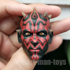 1/6 scale Darth Maul Head Sculpt STAR WAR fit 12'' Figure Body