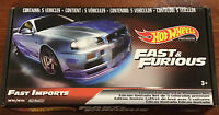 Hot Wheels Premium Fast & Furious Fast Imports Boxed Set New Sealed L/Edition