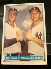 Mickey Mantle and Roger Maris 1961 - The Mickey Mantle Story - MINT