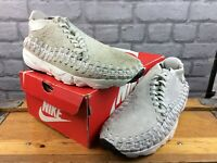 NIKE MENS UK 9 EU 44 AIR FOOTSCAPE WOVEN HAIRY SUEDE CHUKKA TRAINERS RRP £130 M