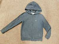 Lacoste Kids Hoodie, Blue, Fits Age 10-11 (14 On The Label), Genuine, Free P&P!