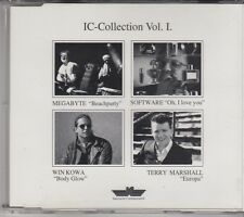 IC-COLLECTION Vol.1  4TRACK CD MAXI Megabyte Software Win Kowa Terry Marshall