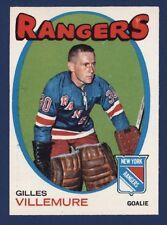 1971-72 O-Pee-Chee #18 GILLES VILLEMURE Nmmt to Nmmt+ New York Rangers!!