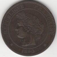 1890 A France 10 Centimes | European Coins | Pennies2Pounds