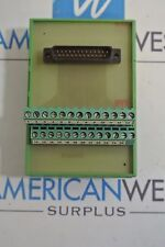 Phonix Klemmen type UM   din rail mount relay Used