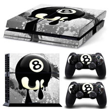 8 Ball PS4 Protective Skin Sticker Set Console and 2 Controllers - 0776