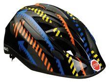 AGU Casco Bambini Blu Traffico Bambini Bambini Casco Bici (52 - 56 cm) Blk