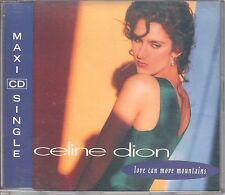 Celine Dion CD-SINGLE  LOVE CAN MOVE MOUNTAINS  (c) 1992   REMIX
