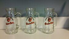 Set of 3 Baltimore Orioles 1983 World Champs Fisher Nuts Beer Mugs