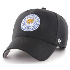 47 BRAND NEW Leicester City FC MVP Cap Black BNWT