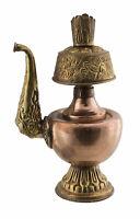 Grande Bumpa Vaso Da Vita Kalasha Rame Rituale Buddismo Tibetano 23 CM 26849