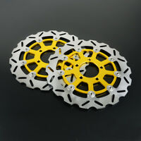 Front Floating Brake Disc Rotor For Suzuki GSXR600 GSXR750 GSXR1000 2004 GSXR