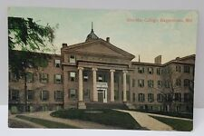 Hagerstown MD Postcard by R.M. Hays Bros Book Store Lee Mar College Early 1900s
