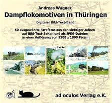 """Foto-CD """"Dampflokomotiven in Thüringen"""" neu"""