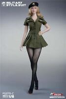 Fire Girl Toys FG070 1/6 US Female Soldier Pantyhose Uniform Clothes Set Figure