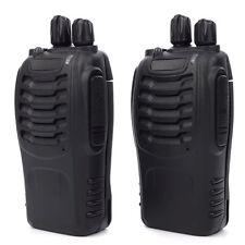2X Walkie Talkie Long Range Two-Way Radio Professional FM Handheld Transceiver