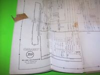 Williams CABARET Original 1968 Arcade Flipper Game Pinball Machine Schematic