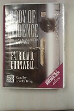 Body of Evidence by Patricia D Cornwell: Unabridged Cassette Audiobook (A2)