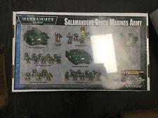 Warhammer 40k Salamanders Space Marines Army 3rd Edition (Sealed, OOP)