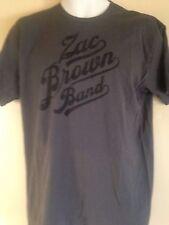 ZAC BROWN BAND 100% UNCAGED TOUR 2012 LARGE T-SHIRT FOLK ROCK SOUTHERN