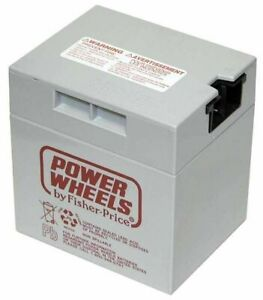 Power Wheels 12-Volt Rechargeable Replacement Battery - NEW - SALE - FREESHIP