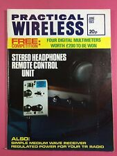 PRACTICAL WIRELESS Magazine - JUNE 1973 - Stereo Headphones Remote Control Unit