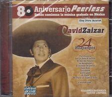 David Zaizar 80 Años Peerless 24 Huapangos  CD New Nuevo Sealed