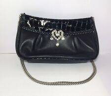Brighton Black Small Special Occasion Evening Purse Clutch NWOT