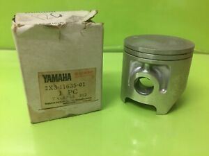 Yamaha NOS. YZ125E, YZ125G, YZ125F,   PISTON (0.25) Part Number 2X3-11635-01