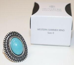2017 Avon Jewelry Western Summer Ring Size 8