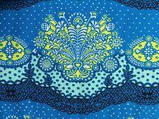 By 1/2 Yard Amy Butler Cotton Fabric ~ Lark Nanna Chic Cloud ~ Lace Damask Blue
