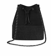 BRAND NEW 100% GENUINE ZADIG & VOLTAIRE BLACK BUCKET SHOULDER BAG CHAIN STRAP