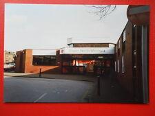 PHOTO  WIGAN NORT WESTERN RAILWAY STATION 1999 EXTERIOR