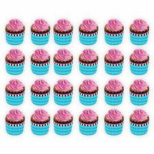 24 Blu Rosa Baby Shower Cupcake Stampi Torta Scodella Custodia Compleanno