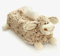 boite a mouchoirs housse mouton coloris naturel cadeau enfant bebe naissance