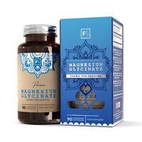 Magnesium Glycinate | 250mg Per Serving | 90 or 270 Capsules | Focus Supplements