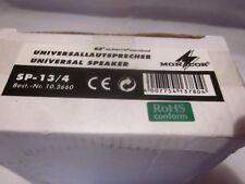 """MONACOR SP-13/4 Universal bass-midrange speaker, 5"""" New"""