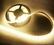 BOBINA STRISCIA LED 5630  5 METRI ALTA LUMINOSITA' 300 LED BIANCO CALDO 12v