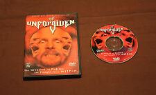 WWF UNFORGIVEN 2001 (DVD, 2001) WWE *RARE*