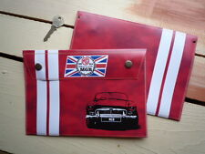 MG MGB 50th Anniversary style toolbag document holder handbook bag