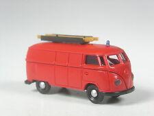 schön: Brekina 3230 VW T1 Kasten Feuerwehr mit Leiter in OVP