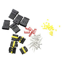 5 Kit 4 Pin Way Waterproof Electrical Wire Connector Plug SS
