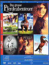 5 Filme mit Pferden / Der weisse Hengst, 2 treue Gefährten, Die Ranch der Pferde