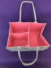 728 Felt Diaper Storage School Supplies Tote