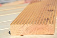 Terrassendielen sibirische Lärche Holzterrasse 14,5x2,9x300 geschliffen glatt