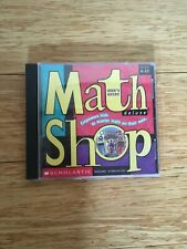EUC, Math Shop Deluxe, Ages 8-13, Windows/Machintosh, CD-ROM
