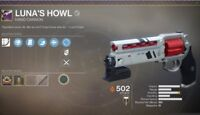 Destiny 2: Lunas Howl Full Quest Completion GUARANTEED! (PS4, PC, Xbox!)