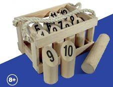 New Number Toss Set Regent Official Wooden Set includes wooden carry case