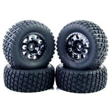 US 4X 1:10 Short Course Truck Tires Tyre Wheel Rim For RC TRAXXAS SlASH HSP HPI