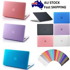 "Macbook Rubberized Hard Case Shell+Keyboard Cover for Pro 13/15"" Air 11/12"" Inch"